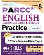 PARCC Practice tedBook® - Grade 8 ELA, Teacher Copy
