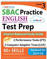 SBAC Practice tedBook® - Grade 3 ELA, Teacher Copy