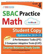 SBAC Practice tedBook® - Grade 4 Math, Student Copy