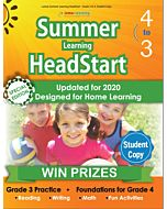 Lumos Summer Learning HeadStart Grade 3 to 4, Student Copy