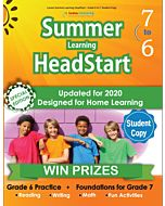 Lumos Summer Learning HeadStart Grade 6 to 7, Studnet Copy