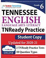 TNReady Practice tedBook® - Grade 6 ELA, Student Copy