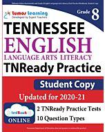 TNReady Practice tedBook® - Grade 8 ELA, Student Copy