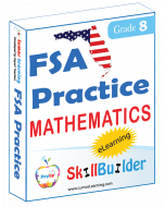Lumos StepUp SkillBuilder + Test Prep for FSA: Online Practice Assessments and Workbooks - Grade 8 Math