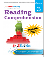 Lumos Reading Comprehension Skill Builder, Grade 3 - Literature, Informational Text and Evidence-based Reading, Student Copy