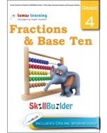 Lumos Fractions and Base Ten Skill Builder, Grade 4 - Place Value, Compare Numbers and Compare Fractions - Teacher copy