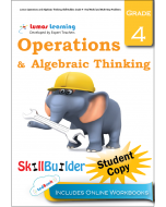 Lumos Operations and Algebraic Thinking Skill Builder, Grade 4 - Real World and Multi-Step Problems, Student Copy