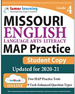 MAP Practice tedBook® - Grade 4 ELA, Student Copy