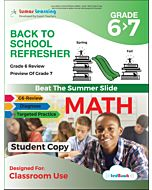 Back to School Refresher tedBook - Grade 6>7 Math, Student Copy