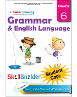 Lumos English Language and Grammar Skill Builder, Grade 6 - Conventions, Vocabulary and Knowledge of Language, Student Copy