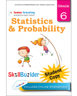 Lumos Statistics and Probability Skill Builder, Grade 6 - Distribution, Graphs and Charts, Student Copy