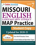MAP Practice tedBook® - Grade 7 ELA, Student Copy