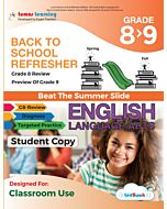 Back to School Refresher tedBook - Grade 8>9 ELA, Student Copy