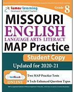MAP Practice tedBook® - Grade 8 ELA, Student Copy