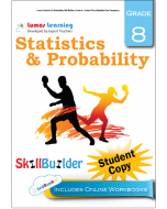 Lumos Statistics & Probability Skill Builder, Grade 8 - Scatter Plots, Relatable Data Frequency, Student Copy