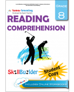 Lumos Reading Comprehension Skill Builder, Grade 8 - Literature, Informational Text and Evidence-based Reading, Student Copy