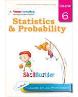 Lumos Statistics and Probability Skill Builder, Grade 6 - Distribution, Graphs and Charts - Teacher Copy