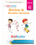 Lumos Ratios & Proportional Relationships and The Number System Skill Builder, Grade 6 - Unit Rates, Measurement and Division of Whole Numbers - Teacher Copy