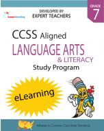 Comprehensive Online Assessments and Workbooks Aligned With the CCSS: Grade 7 English Language Arts