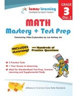 Grade 3 Math Mastery and Test Prep : Entertaining videos and eLearning Disc 2
