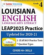 LEAP Practice tedBook® - Grade 4 ELA, Teacher Copy