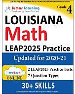 LEAP Practice tedBook® - Grade 4 Math, Teacher Copy