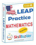 Lumos StepUp SkillBuilder + Test Prep for LEAP: Online Practice Assessments and Workbooks - Grade 4 Math