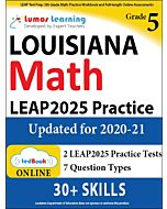 LEAP Practice tedBook® - Grade 5 Math, Teacher Copy
