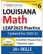 LEAP Practice tedBook® - Grade 6 Math, Teacher Copy