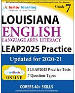 LEAP Practice tedBook® - Grade 7 ELA, Teacher Copy