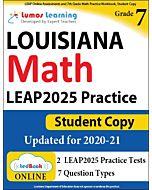 LEAP Practice tedBook® - Grade 7 Math, Student Copy