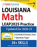 LEAP Practice tedBook® - Grade 7 Math, Teacher Copy