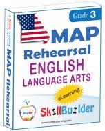 Lumos StepUp SkillBuilder + Test Prep for MAP: Online Practice Assessments and Workbooks - Grade 3 ELA
