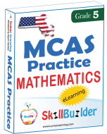 Lumos StepUp SkillBuilder + Test Prep for MCAS: Online Practice Assessments and Workbooks - Grade 5 Math