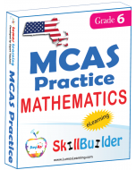 Lumos StepUp SkillBuilder + Test Prep for MCAS: Online Practice Assessments and Workbooks - Grade 6 Math