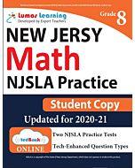 NJSLA Practice tedBook® - Grade 8 Math, Student Copy