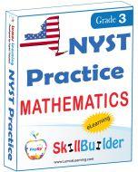 Lumos StepUp SkillBuilder + Test Prep for NYST: Online Practice Assessments and Workbooks - Grade 3 Math