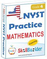 Lumos StepUp SkillBuilder + Test Prep for NYST: Online Practice Assessments and Workbooks - Grade 4 Math