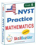 Lumos StepUp SkillBuilder + Test Prep for NYST: Online Practice Assessments and Workbooks - Grade 5 Math