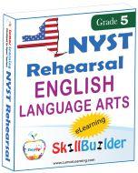 Lumos StepUp SkillBuilder + Test Prep for NYST: Online Practice Assessments and Workbooks - Grade 5 ELA