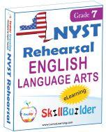 Lumos StepUp SkillBuilder + Test Prep for NYST: Online Practice Assessments and Workbooks - Grade 7 ELA