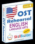 Lumos StepUp SkillBuilder + Test Prep for OST: Online Practice Assessments and Workbooks - Grade 4 ELA