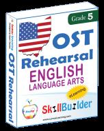 Lumos StepUp SkillBuilder + Test Prep for OST: Online Practice Assessments and Workbooks - Grade 5 ELA