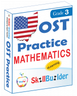 Lumos StepUp SkillBuilder + Test Prep for OST: Online Practice Assessments and Workbooks - Grade 3 Math