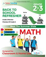 Back to School Refresher tedBook: Grade 2 to 3 Math, Teacher Copy