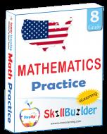 StepUp Skill Builder - Grade 8 Math
