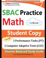 SBAC Practice tedBook® - Grade 7 Math, Student Copy