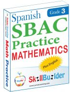 Lumos StepUp SkillBuilder + Test Prep for SBAC in Spanish: Online Practice Assessments and Workbooks - Grade 3 Math