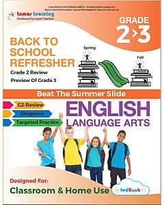 Back to School Refresher tedBook - Grade 2>3 ELA, Teacher Copy