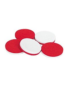 Foam Counters: Red/White